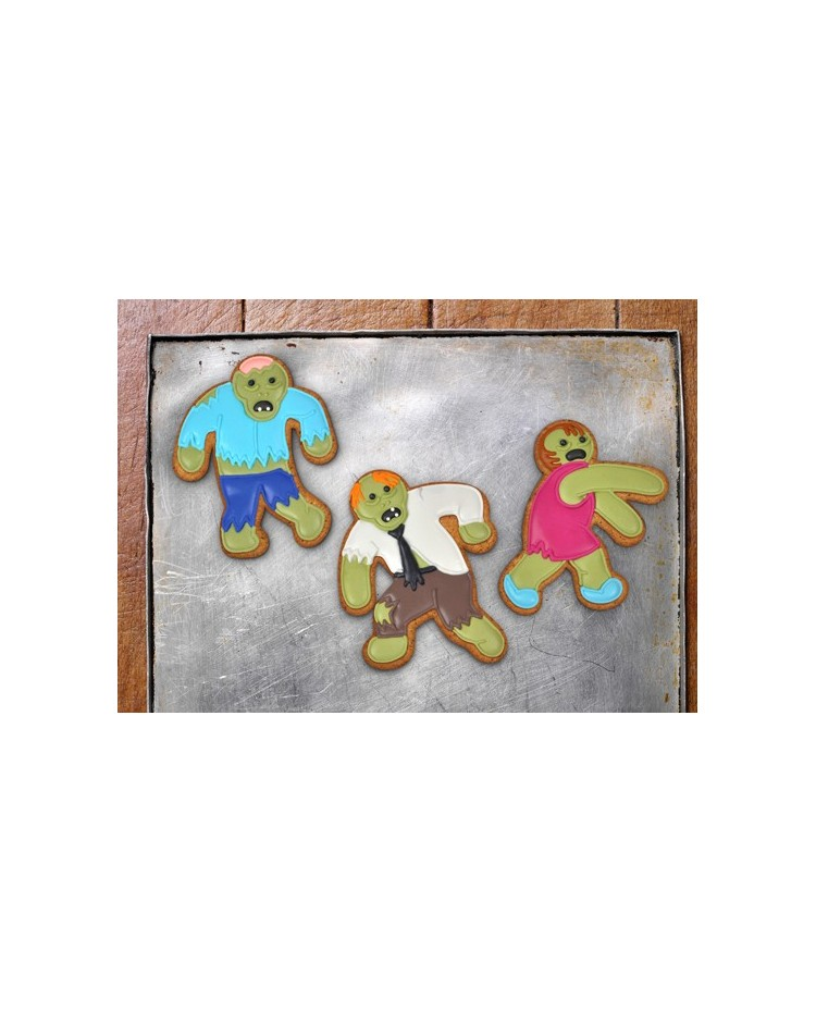 image: Undead Fred Zombie cookie cutter set 3