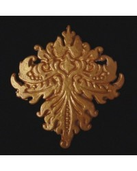 image: Damask or baroque silicone mould MELISSA (use for lace too)