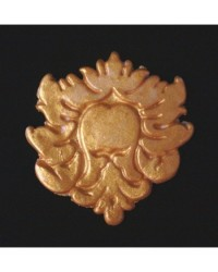 image: Damask or baroque silicone mould LEONIE (use for lace too)