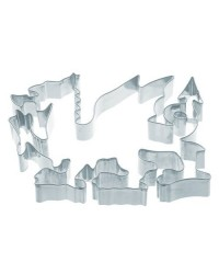 image: Welsh Dragon cookie cutter