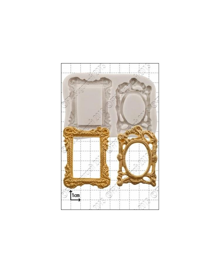 image: Picture Frames (2) silicone mould