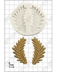 image: Fern fronds silicone mould