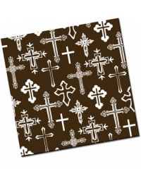 image: Chocolate transfer sheet White Cross