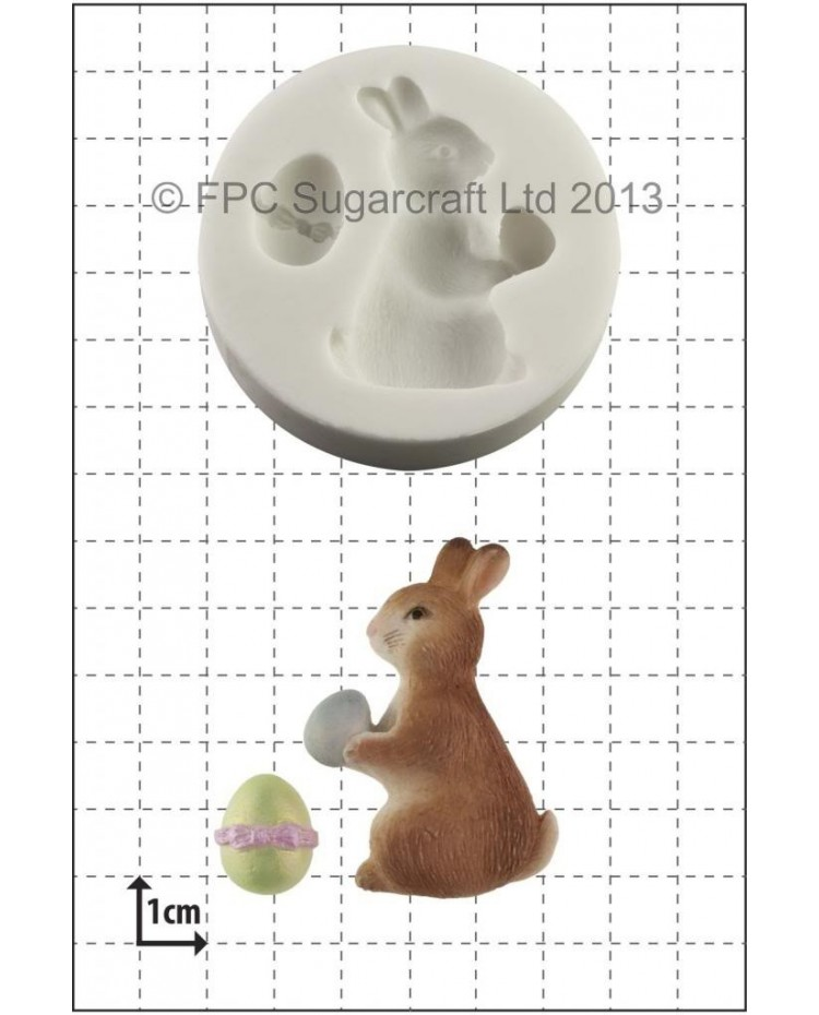 image: Easter Bunny silicone mould