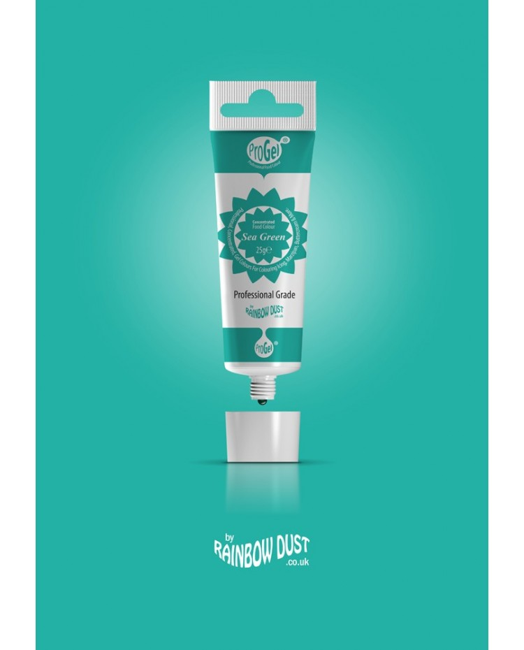 image: Progel concentrated gel paste food colouring Sea Green