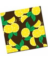 image: Chocolate transfer sheet Lemon citrus