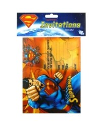 image: Superman party invitations (8) #2