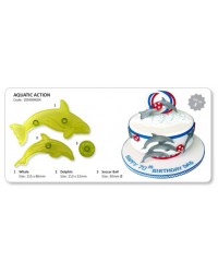 image: Jem Aquatic action cutter set 3 Whale & dolphin