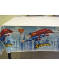image: Superman party tablecover