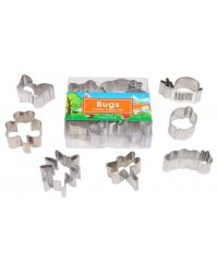 image: Garden bugs mini cookie cutter set