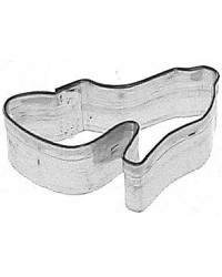 image: Mini High heel shoe cookie cutter stainless steel