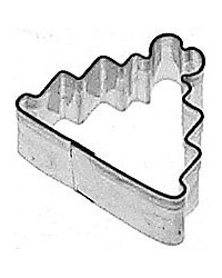 image: Mini Wedding cake cookie cutter stainless steel
