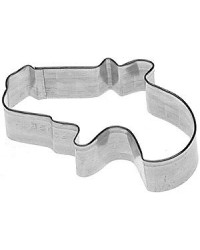 image: Mini Pistol gun cookie cutter stainless steel