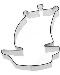 image: Mini Pirate ship cookie cutter (makes kookaburra bird too)