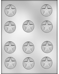 "image: Eastern Star mint 1 1/2"" chocolate mould"