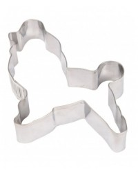 image: Poodle stainless steel cookie cutter