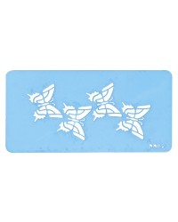 image: Butterfly Jem stencil (suitable for borders)