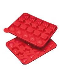 image: Sweetly does it Christmas 20 hole asstd cake pop mould
