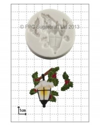 image: Christmas Lantern silicone mould