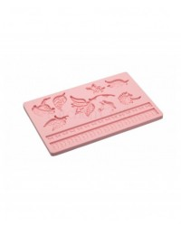 image: Sweetly does it filigree LEAVES silicone mould (pohutukawa)
