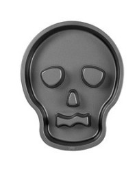 image: Skull tube cake tin pan