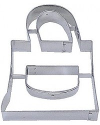 image: Purse or handbag cookie cutter #2