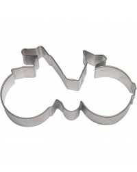 image: Bicycle cookie cutter