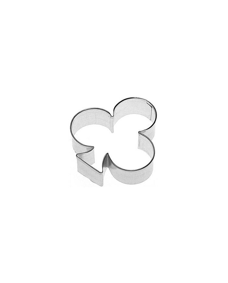 image: Club (Ace card suit) cookie cutter