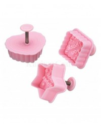 image: Sweetly Doesit message plunger cutter set 3