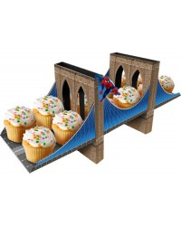 image: Spiderman centrepiece cupcake display stand