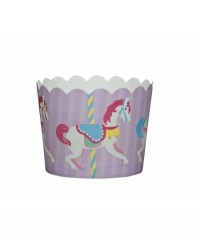 image: Le Petite Gateau (Pack of 25)  Merry go round carousel horse