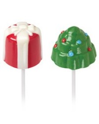 image: 3d Christmas tree & present lollipop mould Dipping marshmallow