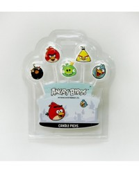 image: Angry Birds 5 candle pick set