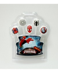 image: Spiderman 5 candle pick set