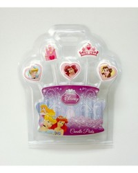 image: Disney Princess 5 candle pick set