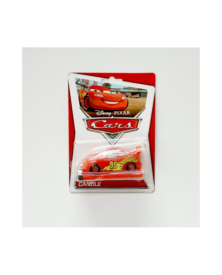 image: Cars Lightning McQueen candle 3d #2