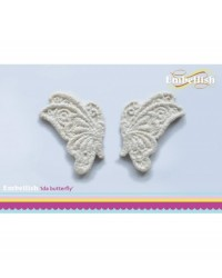 image: Embellish silicone mould - Ida Lace butterflies