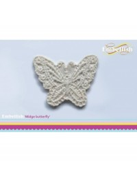 image: Embellish silicone mould - Midge lace butterfly