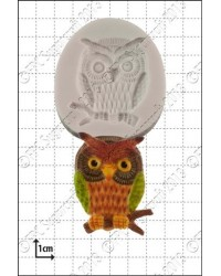 image: Wise Owl silicone mould