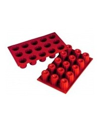 image: Bordelaise or Cannelle MINI silicone cake form pan