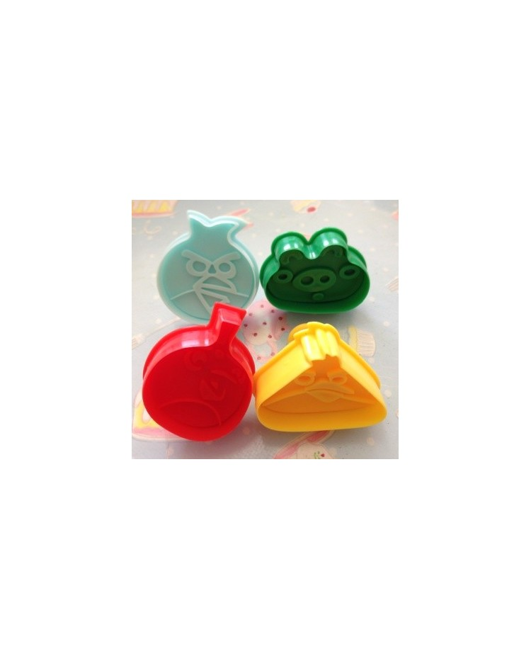 image: Angry Birds plunger ejector cutters set 4
