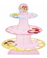 image: Disney Princess cupcake stand 3 tier