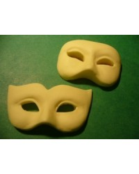 image: Mardi gras silicone mask mould - large
