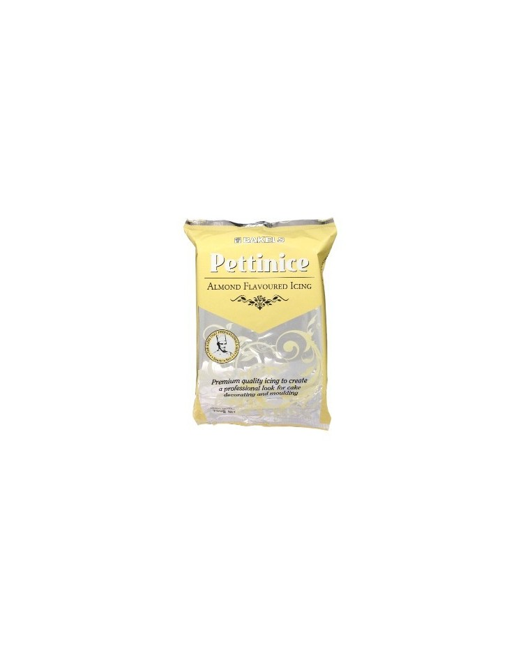 image: 750g Bakels Pettinice fondant icing Almond flavour
