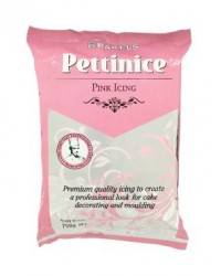 image: 750g Bakels Pettinice fondant icing Pink