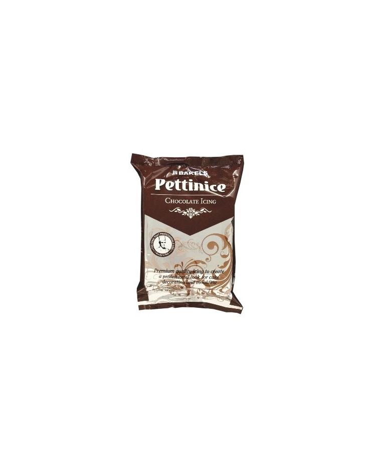 image: 750g Bakels Pettinice fondant icing Chocolate (brown)