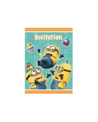 image: Despicable Me Minions party invites (8)