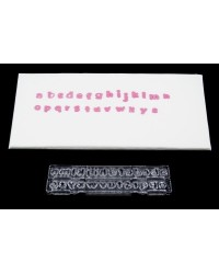 image: Small Lowercase Clikstix Alphabet Lettering Cutter