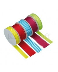 image: Cake & board ribbon BRIGHTS set 5