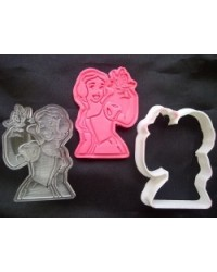 image: Disney Princess Snow White cutter embossing plunger stamp